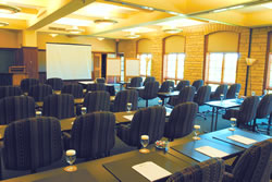 Lied Lodge & Conference Center provides meeting spaces for conferences of all sizes. (Arbor Day Foundation)