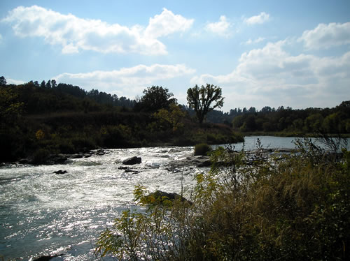 Rocky Ford on the Niobrara on Oct. 5, 2007. (Melvin Thorton)