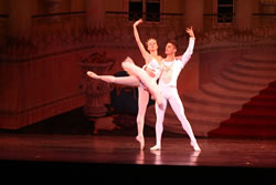 Racheal Hummel and Ryan Nye perform the Pas de Duex of the Sugar Plum Fairy and Cavalier (2010)