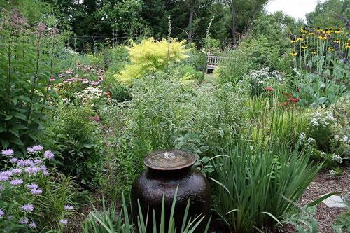 The Vogt garden