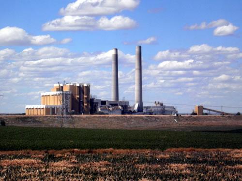 Nebraska Public Power District's Gerald Gentleman station, Nebraska's largest power plant, near Sutherland. (Duane Hovorka)