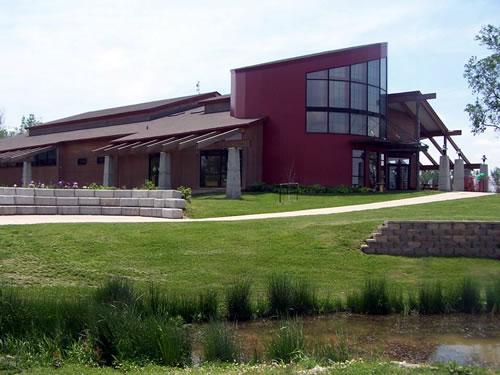 Remington Nature Center building