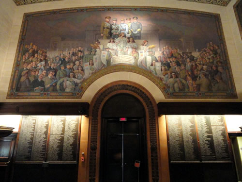 Memory Hall, National World War I Memorial Museum. (Daderot)
