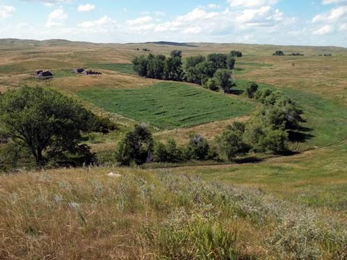 North Creek on Rock Hills Ranch. (Peter Carrels)