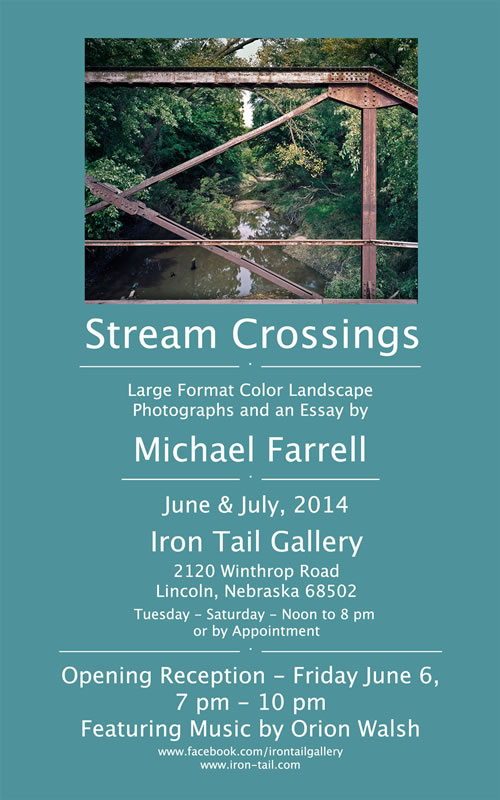 """Stream Crossings"" postcard"