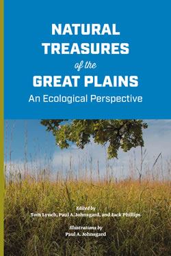 Natural Treasures of the Great Plains: An Ecological Perspective. Edited by Tom Lynch, Paul A. Johnsgard, Jack Phillips. Published by Prairie Chronicles Press in partnership with the Great Plains Ecotourism Coalition