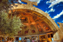While the residents may be crazy, the architecture of Paolo Soleri's experimental city, Arcosanti, is audacious and breathtaking. (Courtesy of CodyR, creativecommons.org/licenses/by/2.0